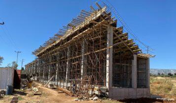 ΑΕΚ: Τρέχουν οι εργασίες στο προπονητικό κέντρο στα Σπάτα (ΦΩΤΟ)