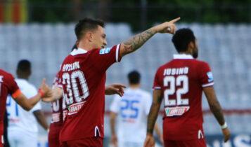 AEΛ-ΠΑΣ Γιάννινα 2-0: Είπε «αντίο» στη Super League με τρίποντο (VIDEO)