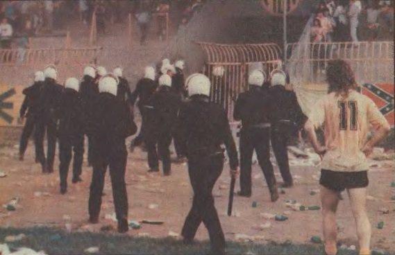Το (βίαιο) τέλος της εποχής Ζαφειρόπουλου στην ΑΕΚ, το ματς ροκ με τον Ηρακλή (VIDEO)