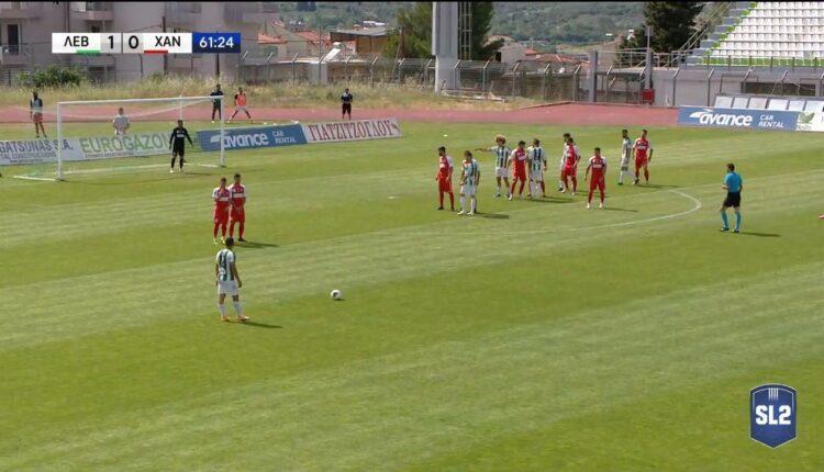 Super League 2: «Τριάρα» στα Χανιά και κορυφή για τον Λεβαδειακό (VIDEO)