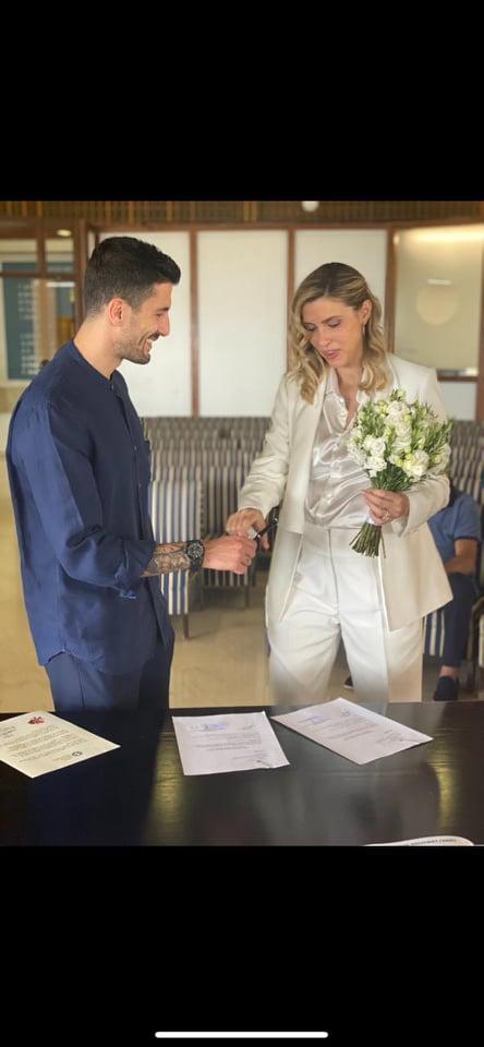 Παντρεύτηκε ο Παναγιώτης Κονέ (ΦΩΤΟ)