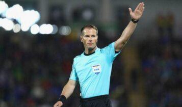 Κύπελλο Ελλάδας: Ο Ολλανδός Μάκελι διαιτητής στον τελικό