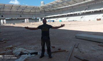 Αποκλειστικό: Ο Μπακαούκας εργάζεται στην «Αγιά Σοφιά-OPAP Arena» -«Ενιωσα δέος και συγκίνηση!» (ΦΩΤΟ)