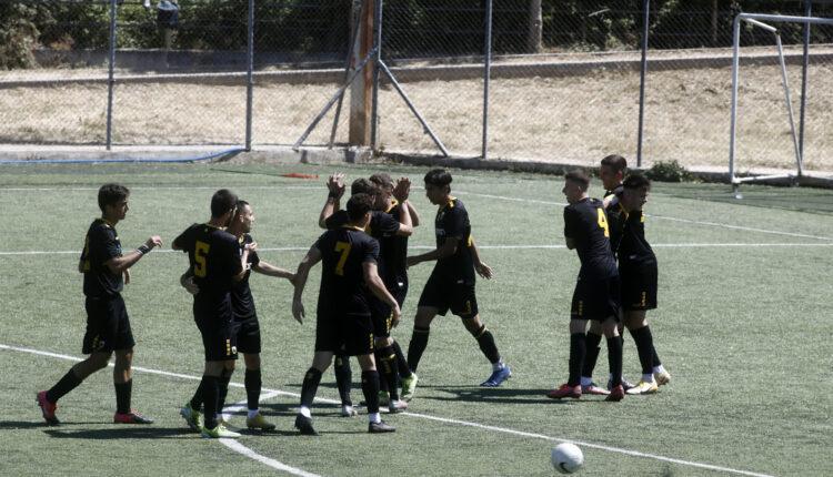 Εικόνες από το ματς της Κ19 Αρης-ΑΕΚ