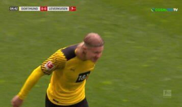 Ντόρτμουντ-Λεβερκούζεν: Εφτασε τα 40 γκολ ο Χάαλαντ! (VIDEO)