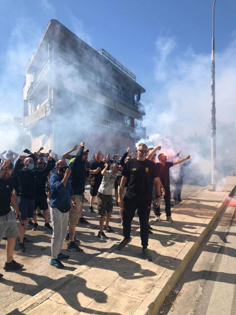 ΑΕΚ: Αποθέωση για τους μάγκες του Πόλο πριν τον τελικό Κυπέλλου! (ΦΩΤΟ-VIDEO)