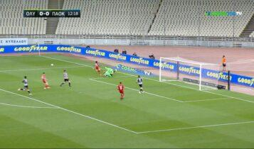Γκολ και φάσεις από το Ολυμπιακός-ΠΑΟΚ 1-2 (VIDEO)