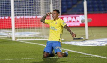 «Πάρτι» Αραούχο: Δύο γκολ στη νίκη της Λας Πάλμας (3-2) με την Αλμπαθέτε -Βραβεύτηκε πριν το ματς (ΦΩΤΟ-VIDEO)
