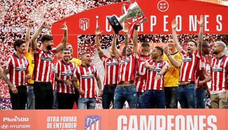 Η φιέστα της πρωταθλήτριας Ατλέτικο Μαδρίτης (ΦΩΤΟ)