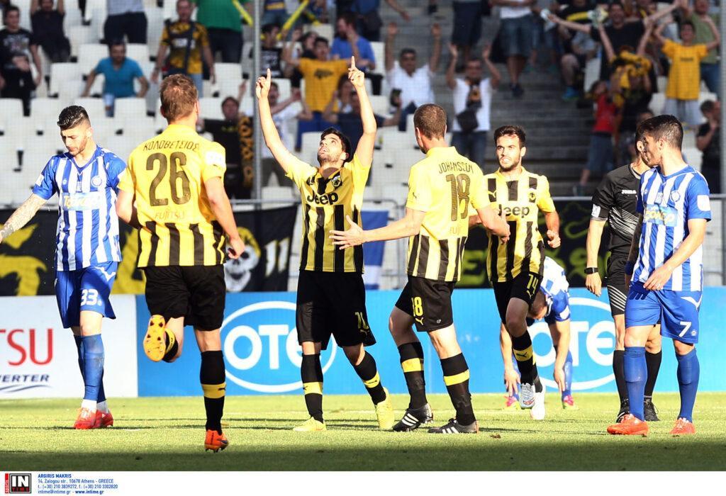 ΑΕΚ: Το γκολ του Ανάκογλου έδωσε την άνοδο στην Super League (VIDEO)