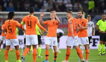 Euro 2021: Με 26 ποδοσφαιριστές η αποστολή της Ολλανδίας (VIDEO)