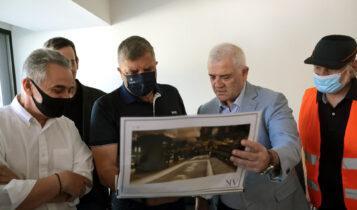 «Αγιά Σοφιά-ΟPAP Arena»: Εικόνες από την επιθεώρηση των έργων παρουσία Μελισσανίδη-Πατούλη