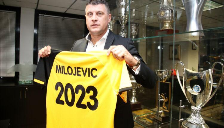 Εικόνες από τις υπογραφές Μιλόγεβιτς στην ΑΕΚ!