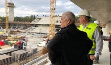 Μελισσανίδης-Πατούλης στην «Αγιά Σοφιά-OPAP Arena»
