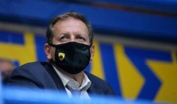 ΑΕΚ: Ο Αγγελόπουλος εγγυήθηκε για την επόμενη μέρα