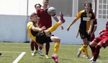 Εικόνες από το ματς της Κ19 ΑΕΚ-Λάρισα