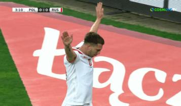 Πολωνία-Ρωσία: Το 1-0 με Σβίρτσοκ στο 4' (VIDEO)