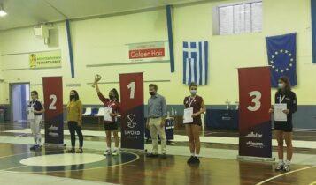 ΑΕΚ: Ασημένιο μετάλλιο η Θεοδόση στο Πανελλήνιο Νεανίδων ξιφασκίας! (ΦΩΤΟ)