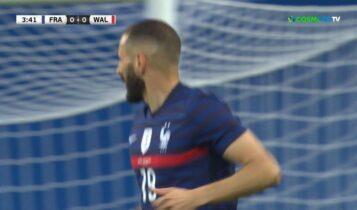 Έχασε πέναλτι στην επιστροφή του στην εθνική Γαλλίας ο Μπενζεμά (VIDEO)