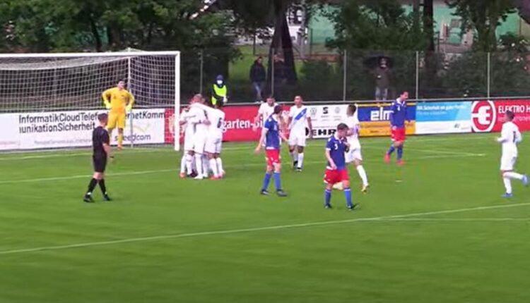 Σκόραραν Μαχαίρας, Σαρδέλης και Μπότος στη νίκη των Ελπίδων επί του Λιχτενστάιν με 5-0 (VIDEO)