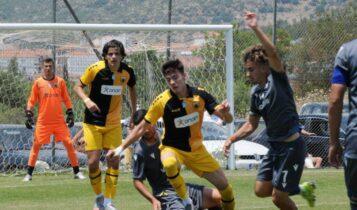 ΑΕΚ Κ19: Ετσι κέρδισε (1-2) τον Αστέρα μέσα στην Τρίπολη! (VIDEO)