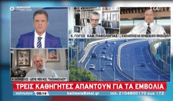 Ερχεται υποχρεωτικός εμβολιασμός; - Τι λένε Γώγος-Βασιλακόπουλος-Καπραβέλος (VIDEO)