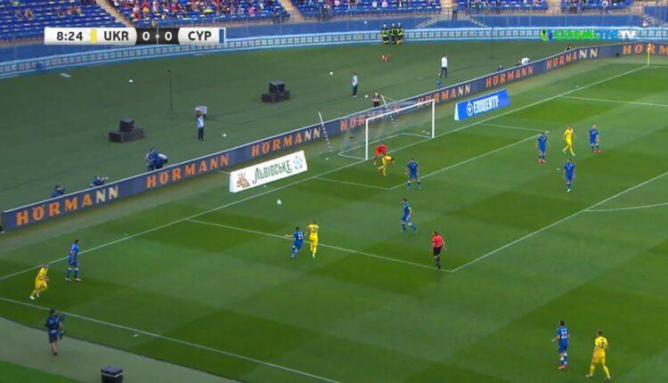 Η Ουκρανία συνέτριψε (4-0) την Κύπρο και πάει φορτσάτη στο EURO 2021 (VIDEO)