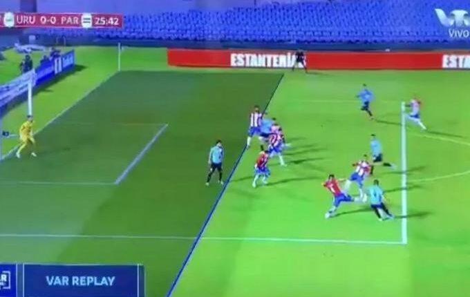«Καμπάνα» στους διαιτητές που ακύρωσαν το γκολ της Ουρουγουάης (VIDEO)