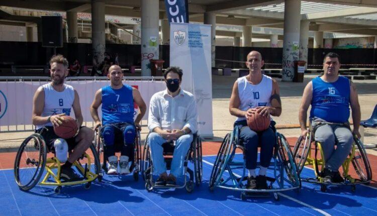 ΑΕΚ: Στο EcoFest η ομάδα μπάσκετ με αμαξίδιο