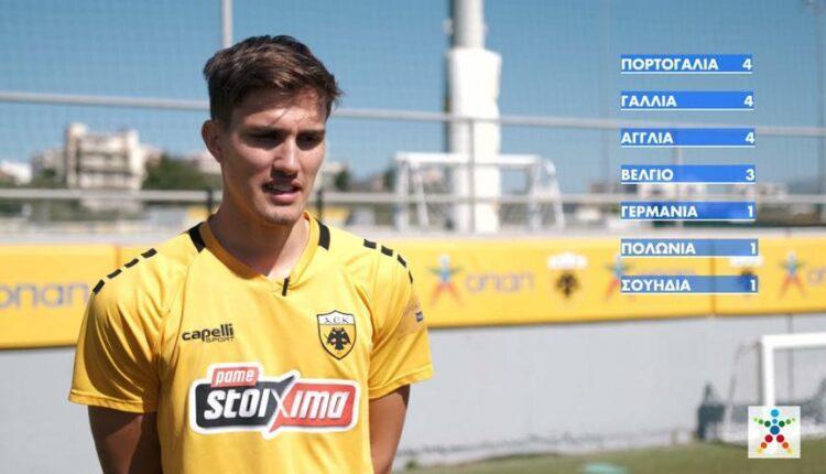 Γκολ στο EURO 2021 με τον ΟΠΑΠ – Οι παίκτες της ΑΕΚ επιλέγουν τον νικητή (VIDEO)
