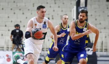 Basket League: Πρωταθλητής ο Παναθηναϊκός, νίκησε 82-66 το Λαύριο (VIDEO)