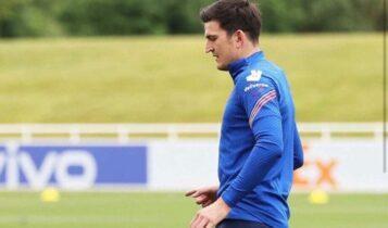 EURO 2021: Προπονήθηκε κανονικά ο Μαγκουάιρ (VIDEO)
