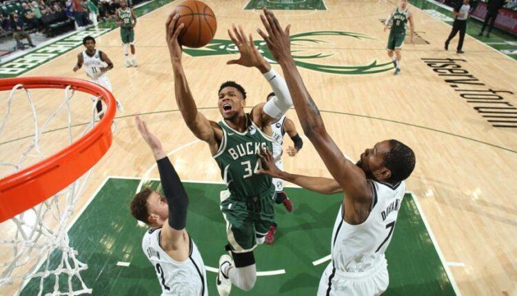 NBA: Αντετοκούνμπο και Μίντλετον κράτησαν «ζωντανούς» του Μπακς, 86-83 τους Νετς (VIDEO)