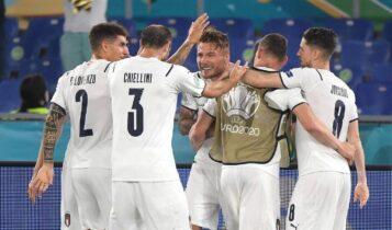 EURO 2021: Περίπατος της Ιταλίας στην πρεμιέρα, 3-0 την Τουρκία (VIDEO)