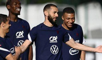 EURO 2021: Kανονικά στην πρεμιέρα της Γαλλίας κόντρα στη Γερμανία ο Μπενζεμά