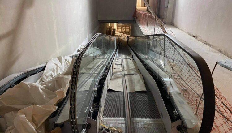 «Αγιά Σοφιά-OPAP ARENA»: Αυτές είναι οι σκάλες που θα ανεβάζουν τους παίκτες στα αποδυτήρια! (ΦΩΤΟ)