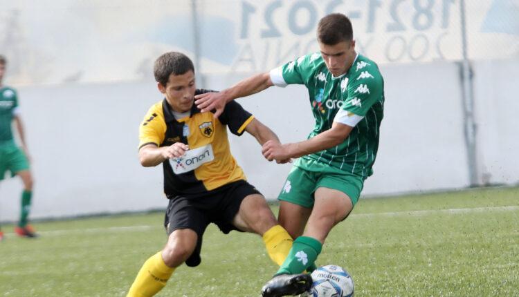Εικόνες από το ματς της Κ19 Παναθηναϊός-ΑΕΚ