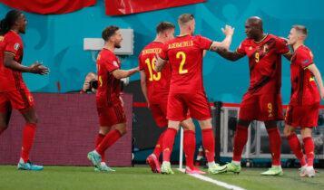 EURO 2021: «Πάρτι» για το Βέλγιο με πρωταγωνιστή τον Λουκάκου, 3-0 τη Ρωσία (VIDEO)