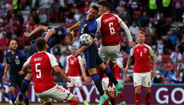 EURO 2021: «Λύγισε» η Δανία μετά το σοκ με τον Ερικσεν και ηττήθηκε (0-1) από την Φινλανδία (VIDEO)