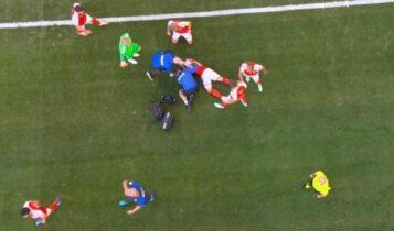 Σοκ με Ερικσεν-Κατέρρευσε στο γήπεδο, χωρίς τις αισθήσεις του! (ΦΩΤΟ-VIDEO)