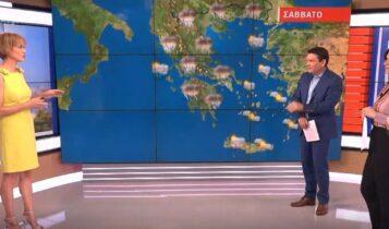 Θερμικές καταιγίδες το μεσημέρι & το απόγευμα σε όλη τη χώρα (VIDEO)