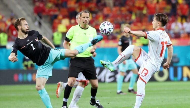 EURO 2021: Δυσκολεύτηκε η Αυστρία αλλά νίκησε (3-1) τη Βόρεια Μακεδονία (VIDEO)
