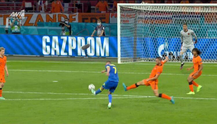 EURO 2021: Μείωσε σε 2-1 με τρομερό γκολ ο Γιαρμολένκο (VIDEO)