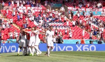 EURO 2021: Προβάδισμα με τον Στέρλινγκ για την Αγγλία απέναντι στην Κροατία (VIDEO)