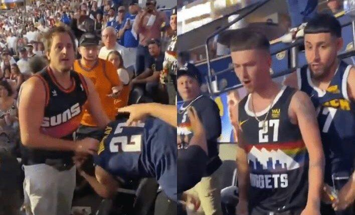 NBA: Αγριο ξύλο μεταξύ οπαδών Σανς και Νάγκετς στο γήπεδο