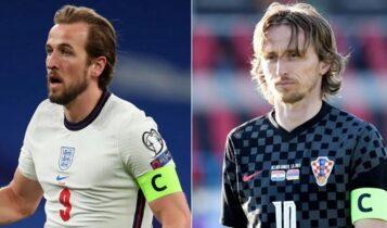 EURO 2021: Τα «φώτα» στο Γουέμπλεϊ σήμερα με το Αγγλία-Κροατία