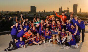 Χάντμπολ: Η Μπαρτσελόνα κατέκτησε το Champions League!