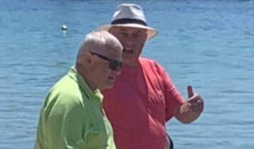 Μελισσανίδης, Μπέος και Κοπελούζος μαζί στην Σκιάθο! (ΦΩΤΟ)