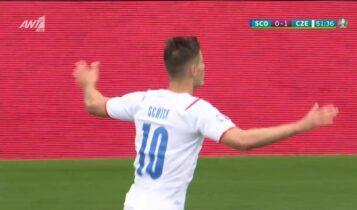 EURO 2021: Η Τσεχία κέρδισε (2-0) την Σκωτία, ο Σικ... έγραψε ιστορία (VIDEO)