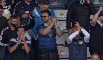 EURO 2021: Ατμόσφαιρα από τα... παλιά στο «Χάμπντεν Παρκ» (VIDEO)